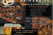 FESTIVAL DE PIZZA Y CERVEZAS